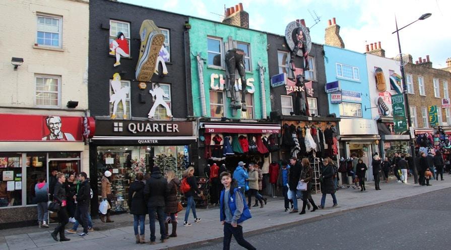 Alternative Shops in Camden Town