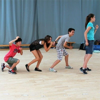 Theatre Activity at Summer Camp - Tableau
