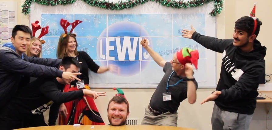Lewis School Happy New Year Video 2020