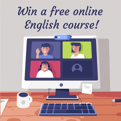 Win a free online English course