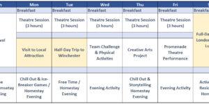 Promenade-Theatre-Timetable