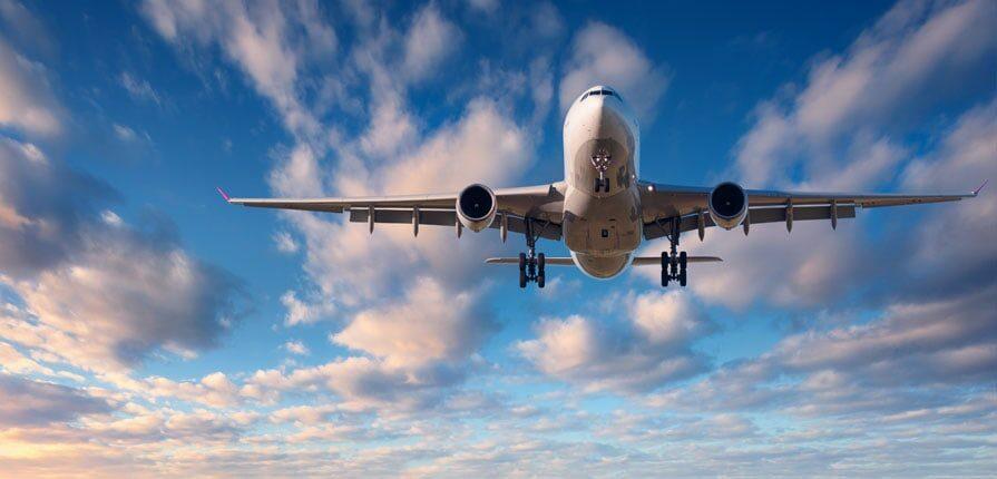 aeroplane flying